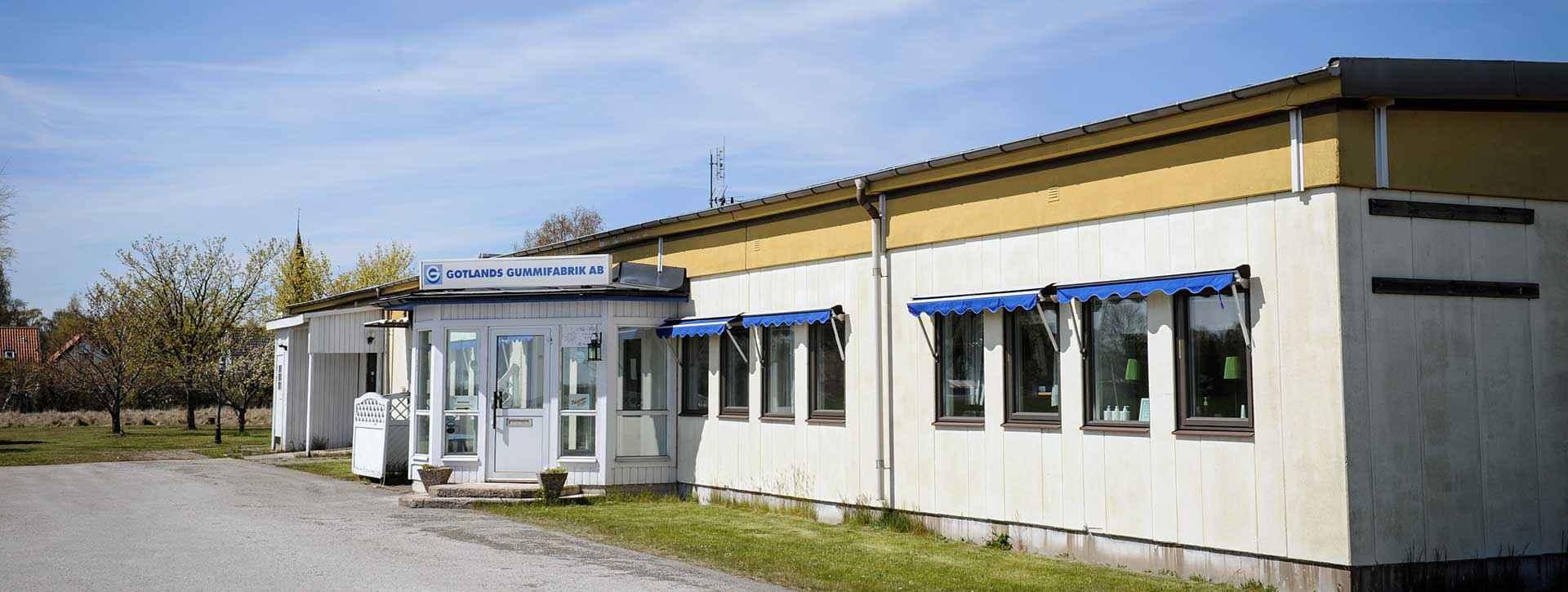 Kontakta Gotlands Gummifabrik AB