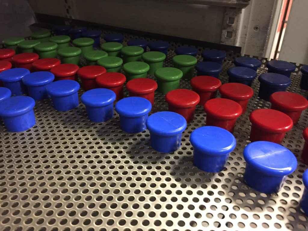 Eftervulkning av silikonkorkar!
