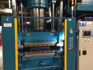 Kompression formpressning eller transfer maskin.