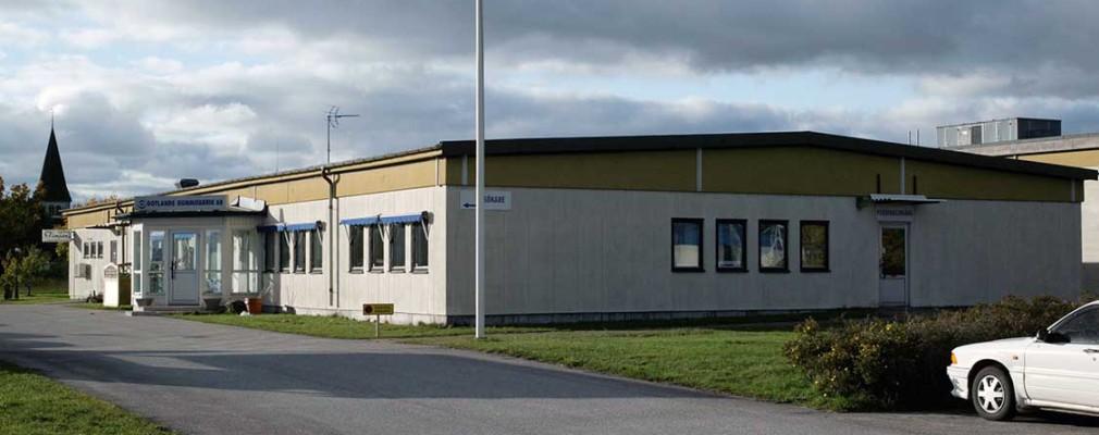 Gotlands Gugummifabrik - kontor